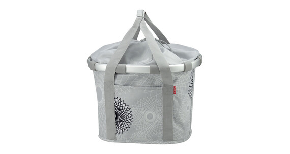 KlickFix Reisenthel Bikebasket crystals light grey